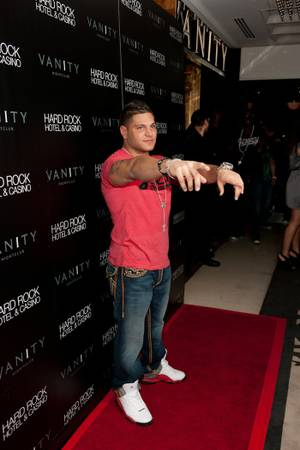 Ronnie Ortiz-Magro at Vanity Nightclub