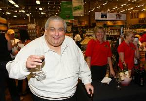 "Robert ""Bubbles"" Ubriaco at an event at Whole Foods Market."