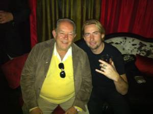 Robin Leach and Chad Kroeger.