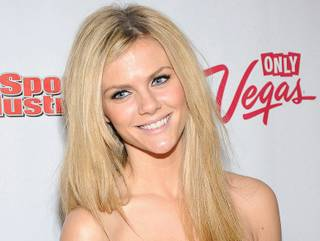 2010 Sports Illustrated Swimsuit Edition cover model Brooklyn Decker at Vanity at the Hard Rock Hotel on Feb. 17, 2011.
