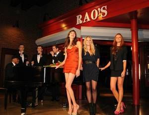 2011 S.I. Swimsuit Models at Rao's With Human Nature