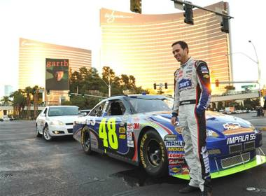 It's NASCAR's first-ever Champions Week in Las Vegas, and part of the celebration was a victory lap by the Top 12 drivers -- including four-time consecutive ...