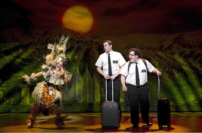 """The Book of Mormon"" is part of the Broadway Season 2 lineup at The Smith Center for the Performing Arts in Downtown Las Vegas."