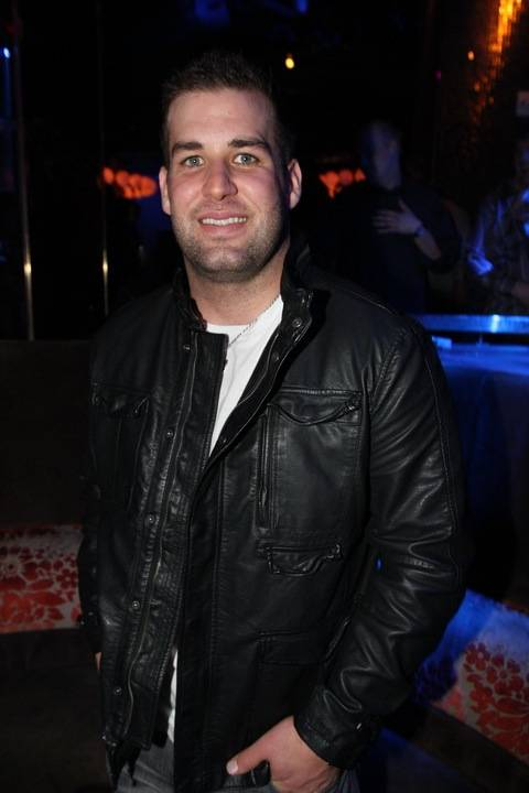Chase Daniel at Vanity at the Hard Rock Hotel.