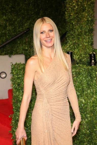 Gwyneth Paltrow at the Vanity Fair Oscar Party at the Sunset Tower Hotel in L.A. on Feb. 27, 2011.