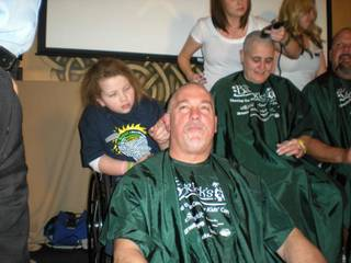 Participants at the 2011 St. Baldrick's Head Shaving Event on March 5.