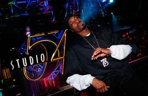 Snoop Dogg Performance at Studio 54