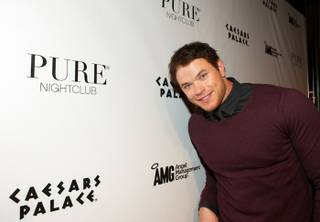 Kellan Lutz celebrates his birthday and his brother Brandons' Bachelor party at Pureat Caesars Palace on March 12, 2011.