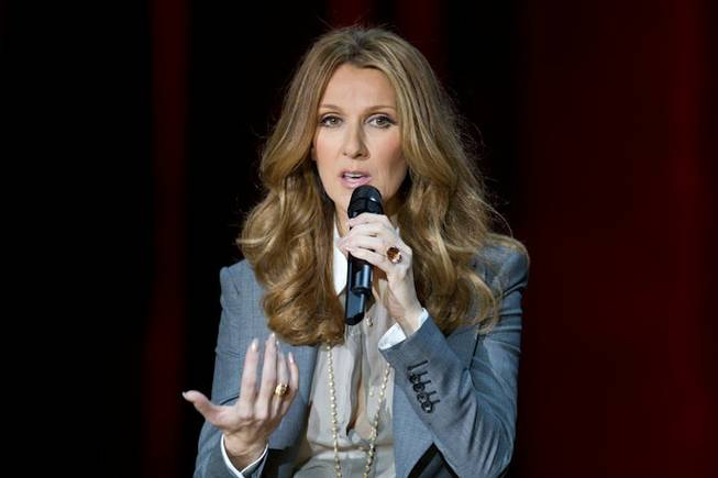 3/15/11: Celine Dion's Post-Show News Conference