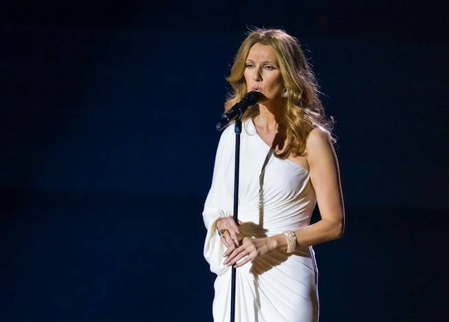3/15/11: Celine Dion at The Colosseum