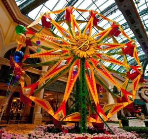The Bellagio's 2011 spring display is a free attraction that will remain open 24 hours seven days a week through May 8.