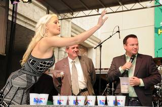 Holly Madison defeats Brian