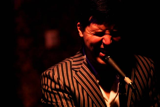 Frankie Moreno, shown at Rush Lounge at the Golden Nugget.