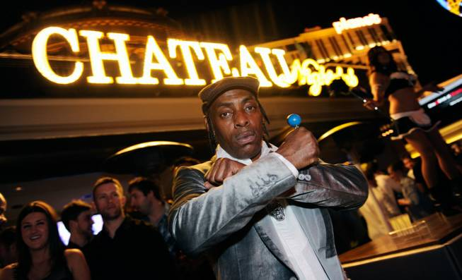 Coolio at Chateau inside Paris on March 18, 2011.