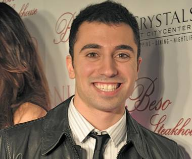 Tino Coury at Eva Longoria's birthday celebration at Eve and Beso inside Crystals at CityCenter on March 18, 2011.