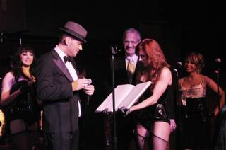 Matt Goss's first anniversary at Caesars Palace on March 26, 2011.