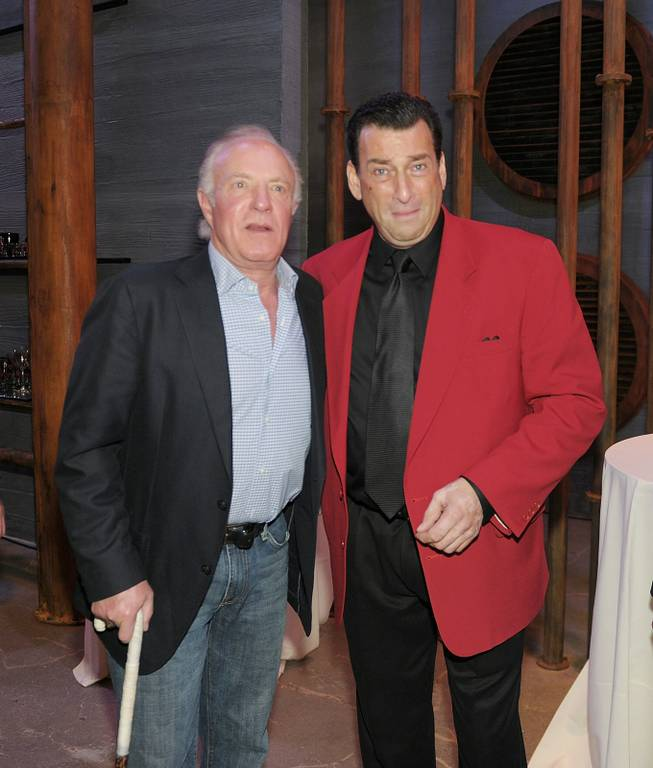 James Caan and Robert Nash at Las Vegas Mob Experience at the Tropicana on March 28, 2011.