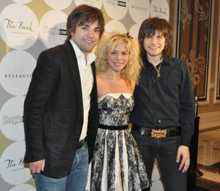 The Band Perry at the Bank at Bellagio on April 2, 2011.