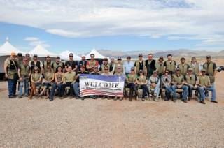 The NRA Country/ACM Celebrity Shoot at Nellis Air Force Base on April 2, 2011.