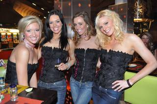 Tamra Barney hosts the Cougars and Cuervo event at Tacos & Tequila on April 8, 2011.