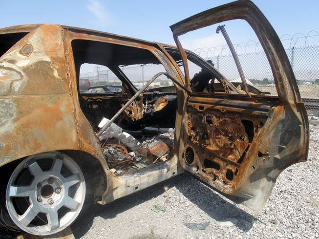 Metro Police said in cases of burned-out vehicles, car owners often try to fraudulently collect insurance.