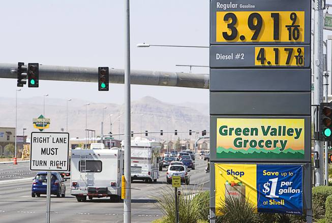 Gas Prices Las Vegas >> Las Vegas Gas Prices Likely Headed Up If Nevada Passes Fuel Tax