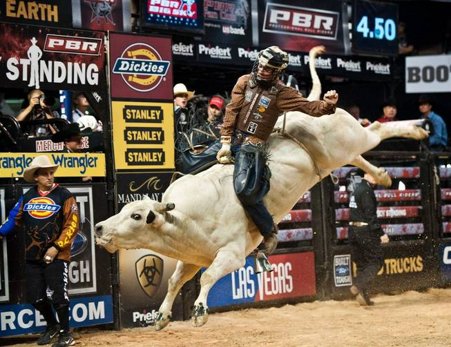 The 2011 PBR <em>Last Cowboy Standing</em> at Mandalay Bay Events Center on April 16, 2011.