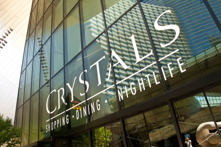 Crystals at CityCenter on Wednesday, April 20, 2011.