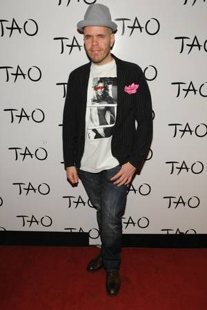 Perez Hilton hosts a celebrity Tweet Up with Kat Graham at Tao on April 22, 2011.