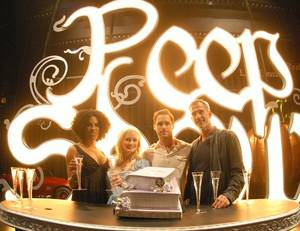 <em>Peepshow</em> celebrates its second anniversary at Planet Hollywood on April 25, 2011.