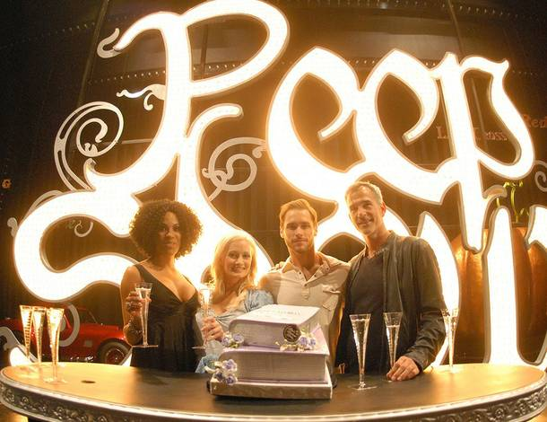 Peepshow celebrates its second anniversary at Planet Hollywood on April 25, 2011.
