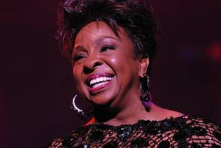 Gladys Knight's A Mic and a Light at the Tropicana on April 26, 2011.