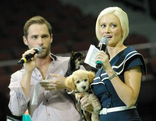 2011 Best in Show hosted by Rita Rudner, emceed by Robin Leach and featuring Holly Madison and Josh Strickland at Orleans Arena on May 1, 2011.