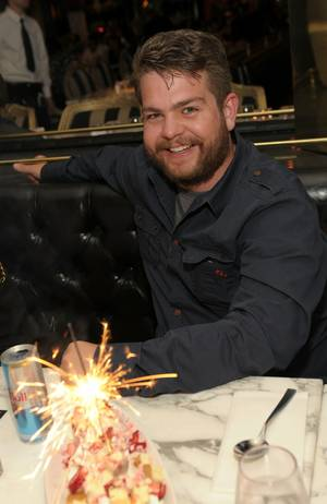 Jack Osbourne at Sugar Factory American Brasserie at the Paris on April 30, 2011.