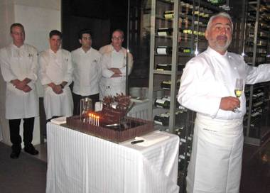 How can it be five years of fine dining already since top French celebrity Chef Guy Savoy opened his self-named institution at Caesars Palace? ...