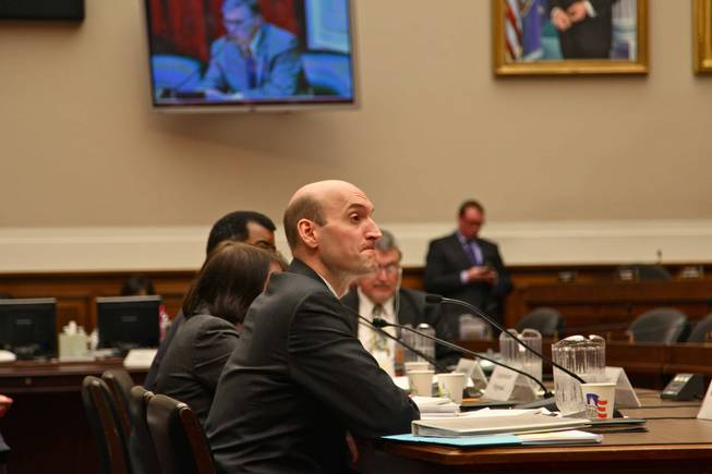 Nuclear Regulatory Commission Chairman Gregory Jaczko answers a battery of questions pertaining to Yucca Mountain from members of the House Energy and Commerce's Subcommittee on Energy and Environment May 4, 2011.
