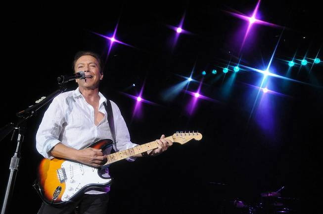 David Cassidy at the Orleans on May 7, 2011.