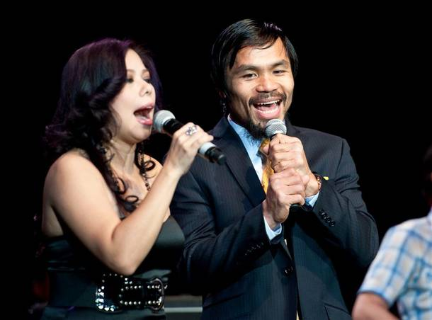 The Official Manny Pacquiao After-Fight Party hosted by Pacquiao at Mandalay Bay Events Center on May 7, 2011.