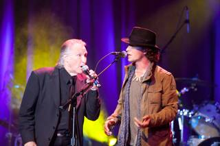 Bill Medley and Michael Grimm perform at Ovation Lounge at Green Valley Ranch on May 9, 2011.