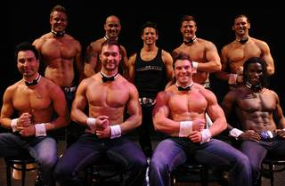 Musical guest star and MC Jeff Timmons in Chippendales at the Rio on May 12, 2011.
