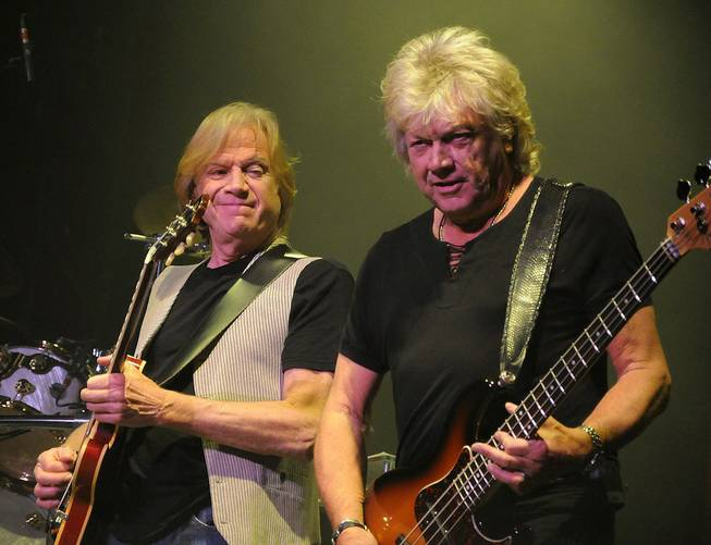 The Moody Blues at The Joint in the Hard Rock Hotel on May 13, 2011.