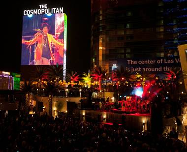 The Cosmo is redefining concert cool smack dab in the middle of the Las Vegas Strip.
