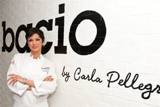 The grand opening VIP and media party of Bacio by Carla Pellegrino at Tropicana on May 17, 2011.