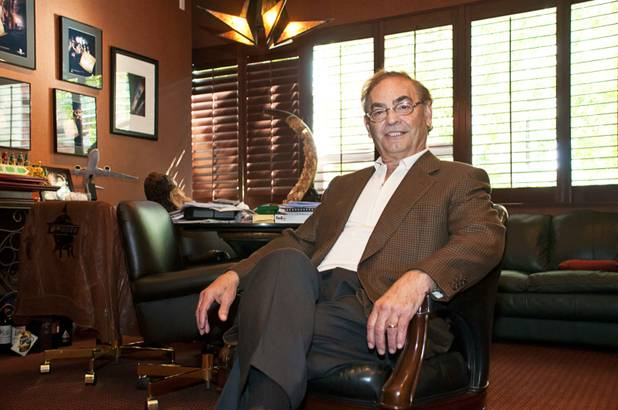 Phil Ruffin, owner of Treasure Island, in his office on Wednesday, May 18, 2011.