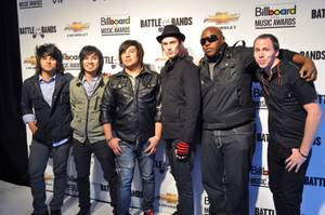 Six unsigned bands from across the country compete in Billboard and Chevrolet's Battle of the Bands at Fremont Street Experience on May 18, 2011.