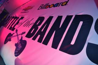Six un-signed bands from across the country compete in Billboard and Chevrolet's Battle of the Bands on May 18, 2011 at Fremont Street.