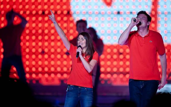 """Glee Live! In Concert!"" tour at Mandalay Bay on May 21, 2011."