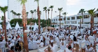 The Nikki Beach and Club Nikki White Party Grand Opening at the Tropicana on May 26, 2011.