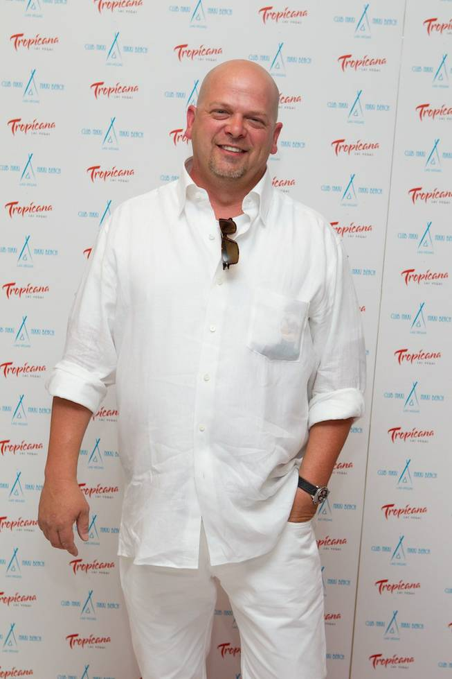 Rick Harrison at the Nikki Beach and Club Nikki White Party Grand Opening at the Tropicana on May 26, 2011.