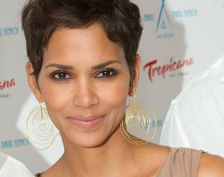 Halle Berry at Nikki Beach and Club Nikki's White Party Grand Opening at the Tropicana on May 26, 2011.